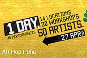 Art Hop at Gyaan Adab Centre