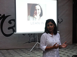 'Lean In: Women, Work, and the Will to Lead' - Book presentation by Sunita Shetty