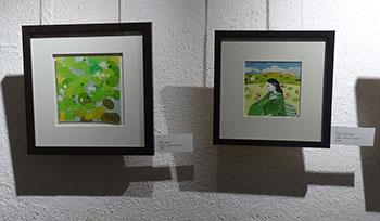 Saket Mehendale's paintings