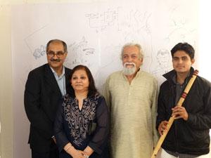 randhir-khare-flautist-deepak-bhanuse