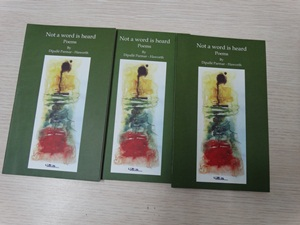 Dipalle's book of poetry on sale at Gyaan Adab