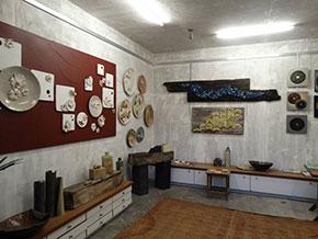 Adipa studio with its ceremic work