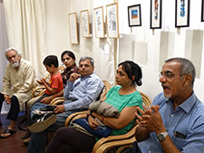 Patrons participated in an enriching discussion