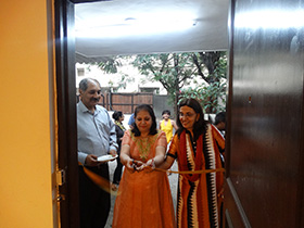 The Trustees of Gyaan Adab Mr and Mrs Merchant inaugurated the exhibition.