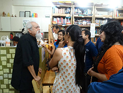The audience was very eager to interact with Mr. Khare and learn from his experiences