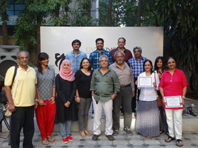 The very promising photography workshop team