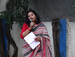 Shahana Banerjee introduces the concept of Swarasudha baithak