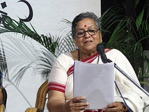 Geetanjali Joshi - presented the writings and poetry of Amrita Pritam