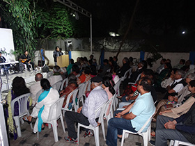 The audience enjoyed evergreen melodies