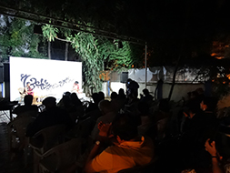 The audience enjoying the beauty of words and music