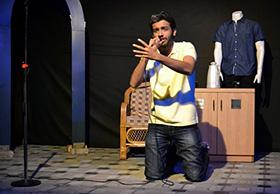 Apurv Inamdar performs Poe's onomatopoeic poem 'The Bells'