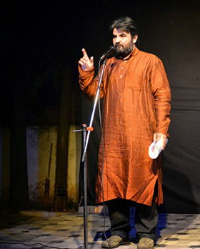 Chandrakant Redican brings Poe's famous poem 'The Raven' to life