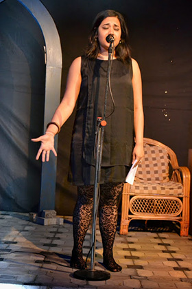 The evening began with Priyanka Menon's passionate performance of 'The Bridal Ballad'