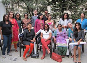 Introductory workshop - Participants of Susan's day long Art Therapy workshop