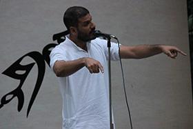 Mohammad Muneem Nazir the winner of the evening