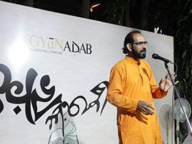Poet, writer, journalist, editor, critic, director and social worker Sanjay Bhardwaj