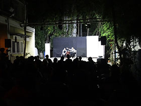 Audience appreciating the acts