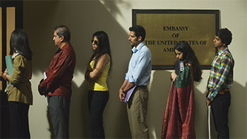 Scene from Vickram Kapadia's Bombay Talkies