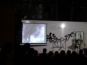 The documentary shown on the occasion of the Nobel Laurete's 154th birth anniversary.