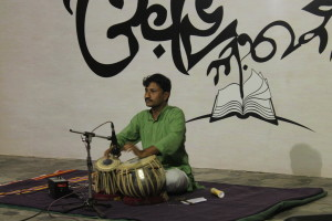 Sudhir Kale has performed in many places, ever since he was a child.