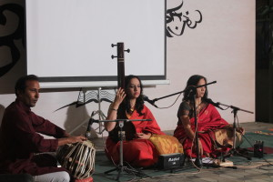 Shyamala Joshi and Kashmira Joshi Sarnobat were the concluding part of our 2-day weekend celebrations of rain and music!