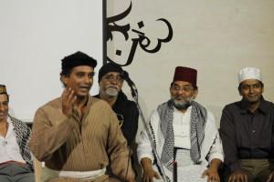 Ahmed Karim played Mehdi, the geography teacher.
