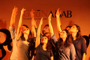 It was an interpretation of contemporary Indian poetry through theatre, music & movement