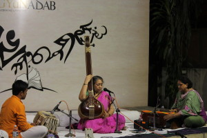 An evening of classical & semi-classical music by Gowri Sundaresan & Pushpita Rath- alive with the flavours of Benaras and Rajasthani folk.