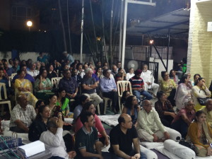The Centre was jam-packed as lovers of Urdu and ghazals gathered!