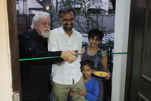 ....and we inaugurate the exhibition!
