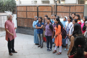 Randhir Khare introduced them to the many facets of the Centre/