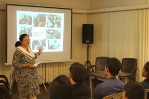 Nilofer Tyrewala spoke about the woman empowerment wing, Gyaan Ruchi.