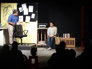 The play has had an extremely successful run on the Marathi theatre circuit, both experimental and commercial.