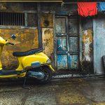 Pratik's Art - scooter